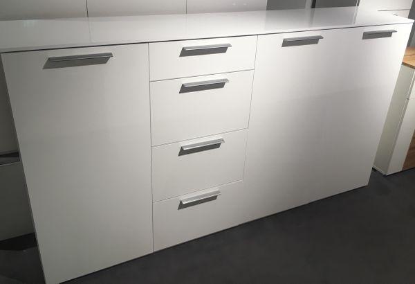 Sideboard weiß Hochglanz » Wohnzimmerschränke, Anbauwände