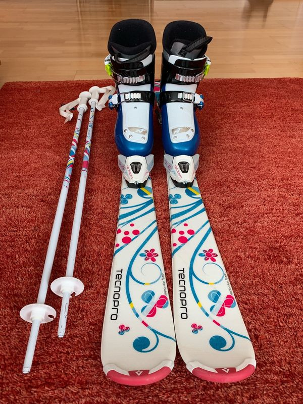 Mädchen Skiset