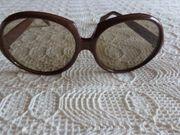 Vintage - Sonnenbrille mit großen Gläsern