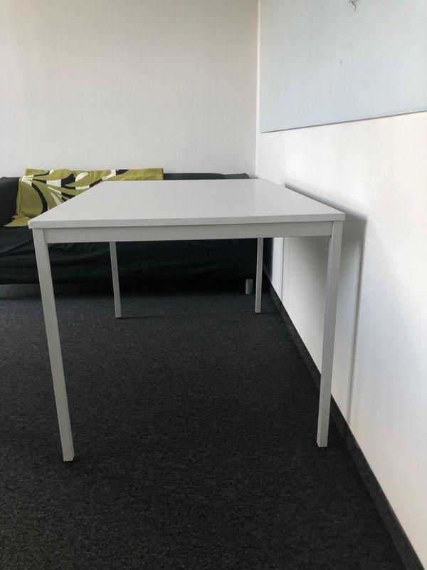 Bürotisch Tisch grau