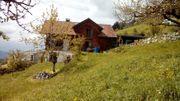 Schönes Einfamilienhaus am Dünserberg zu