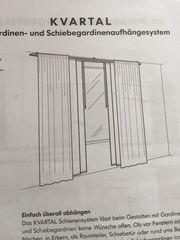 Ikea KVARTAL Gardinensystem