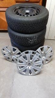 VW Tiguan Winterreifen Winterkompletträder
