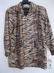 Damen-Regenjacke, Tigermuster (