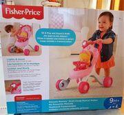 Fisher Price Princess Puppenwagen Lauflernhilfe
