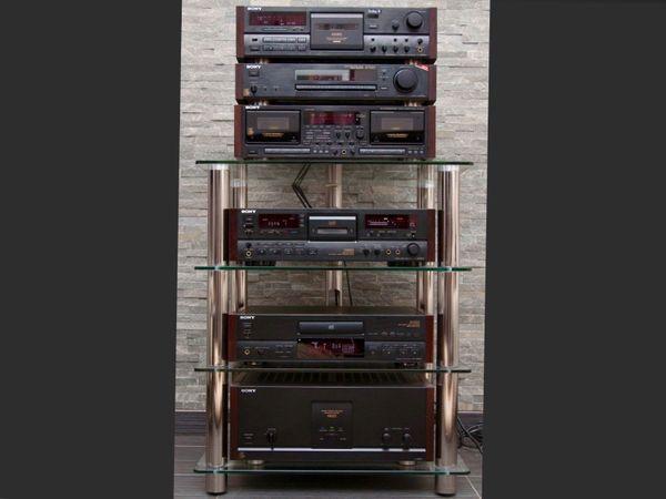Komplette Sony serie ES Sammlung - Gescher - Zum Verkauf steht komplette Sony serie ES TA-N80ESTC-808ESTC-WR870CDP-X505ESST-S770ESDTC-2000ESAlle Geräte im top Original Zustand mit Fehrnbedinungen und Gebrauchsanleitungen ,dieses jahr wurde komplette Servis gemacht - Gescher