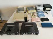 Nintendo Konsolen, N64,
