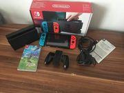 Nintendo Switch Konsole plus Zubehör