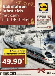 Lidl Bahntickets - 2