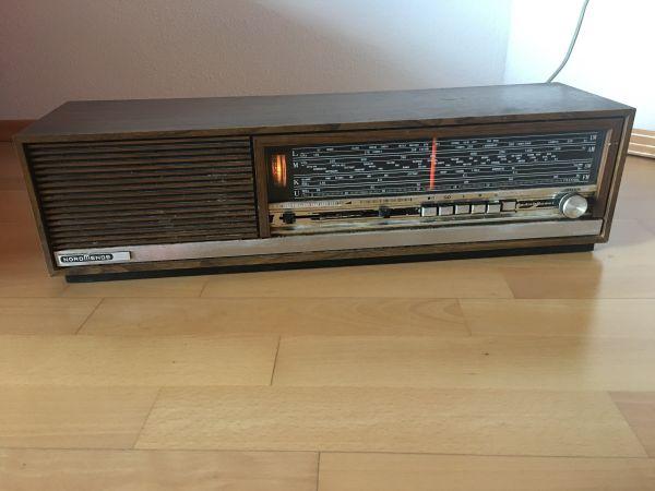 altes radio nordmende gebraucht kaufen nur 3 st bis 65. Black Bedroom Furniture Sets. Home Design Ideas