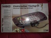 Elektrischer Tischgrill für