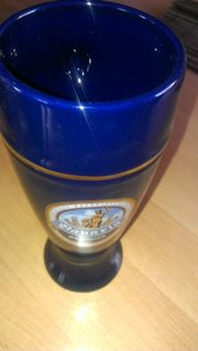 12 Bierkrüge 0 5ltr kobaltblau