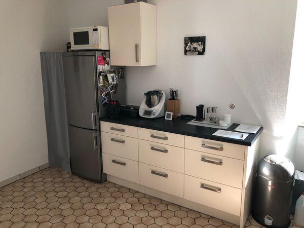 Küche Reddy mit Kühlschrank, Spülmaschine, Waschmaschine, weiß in ...