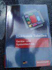 Fachbuch: Elektronik Tabellenbuch -