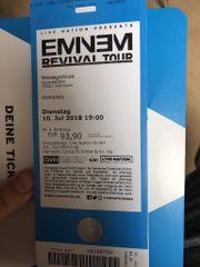 2 Eminem-Konzertkarten