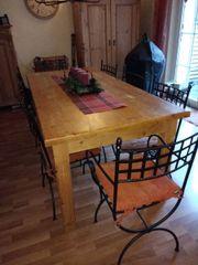 Tisch, Esstisch, Massivholz,