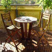 Balkontisch Stühle Tisch Gartentisch 2