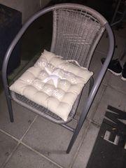 Außentisch mit 2x Stühlen Farbe