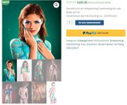 Bodypainting Fotoshooting inklusive alle Bilder