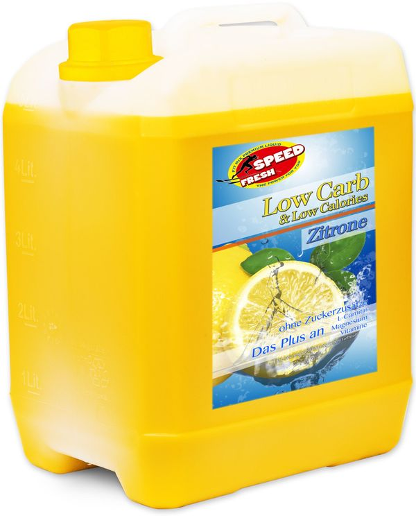 Mineralgetränke Konzentrat Zitrone 5 Liter Kanister in Rees - Essen ...