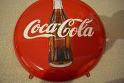 Emaille Coca Cola Schild 1970
