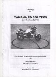 Gebrauchtes super Tuningbuch RD-350 LC
