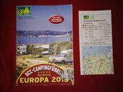 Der offizielle DCC-Campingführer Europa 2015