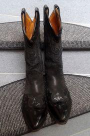 SENDRA-Damen-Cowboystiefel Größe 3 5 Schwarz