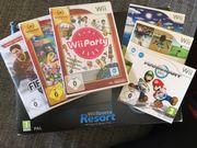 Wii mit zusätzlichen