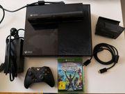 Microsoft Xbox One mit Kinect 500GB Schwarz, gebraucht gebraucht kaufen  Sinsheim