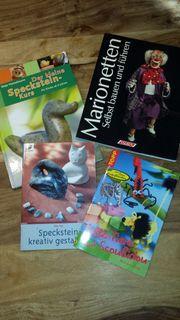 Bastelbücher Speckstein Scoubidou Marionettenbau