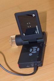 dnt USB Mikroskop-Kamera mit Monitor