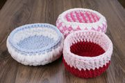Häkelnkorb Handgemacht handmade