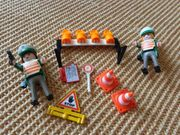 Spielzeug Playmobil Verkehrskontrolle Straßensperrung