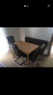 Esstisch mit 3 Stühle 3er