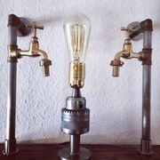 steampunk Vintage Lampe