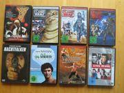 8 neuwertige DVD`