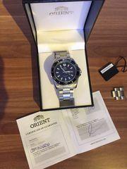 ORIENT Stahlband Herren-Armbanduhr- CEM75002D