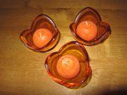 Leonardo Kerzenständer / Glas