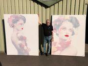 Verkaufe Konvolut Gemälde 585 stuck