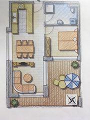 2-Zimmer-Wohnung Neubau Erstbezug