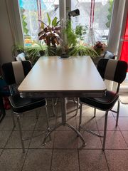 Küchentisch Tresen mit 4 Stühlen