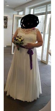 Brautkleid für kurvige Damen