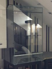 Terrarium + UV Wärmelampeneinheit +