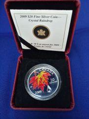 Silbermünze Kanada 20
